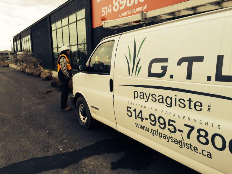 Camion GTL Paysagiste