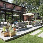 Aménagement d'une terrasse arrière