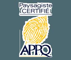Logo Paysagiste certifié APPQ